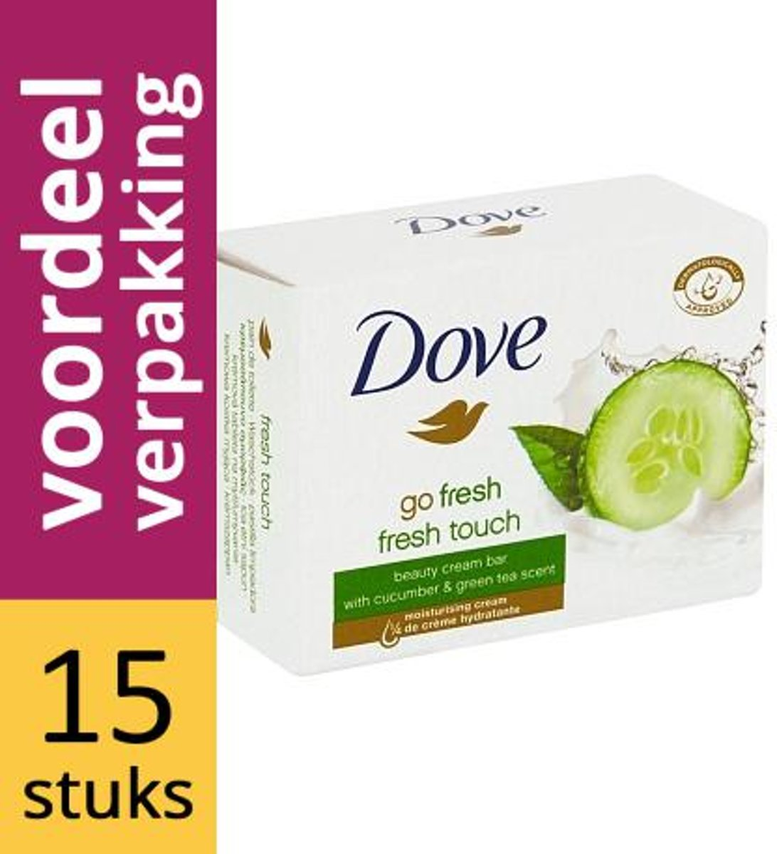 Dove Cream Cucumber & Green Tea Tablet
