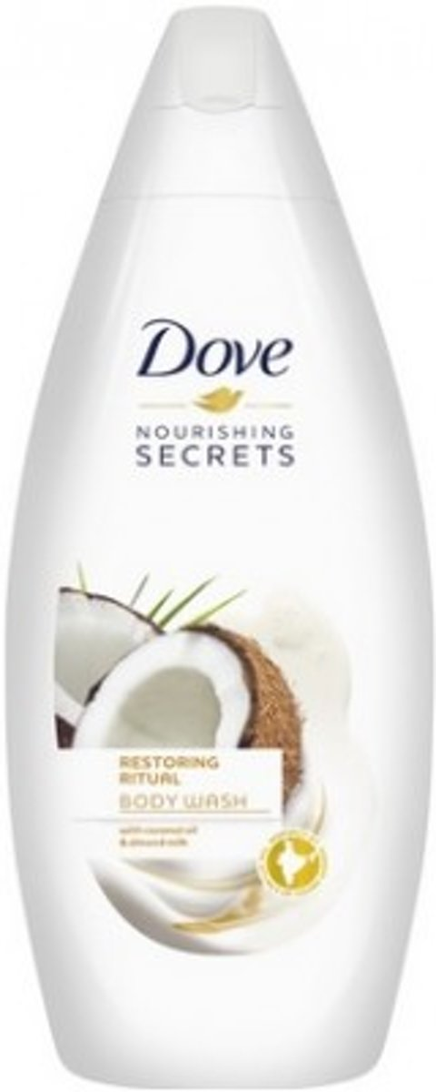 Dove Douchegel - Shower Nourishing Secrets Coconut+Almond 500ml