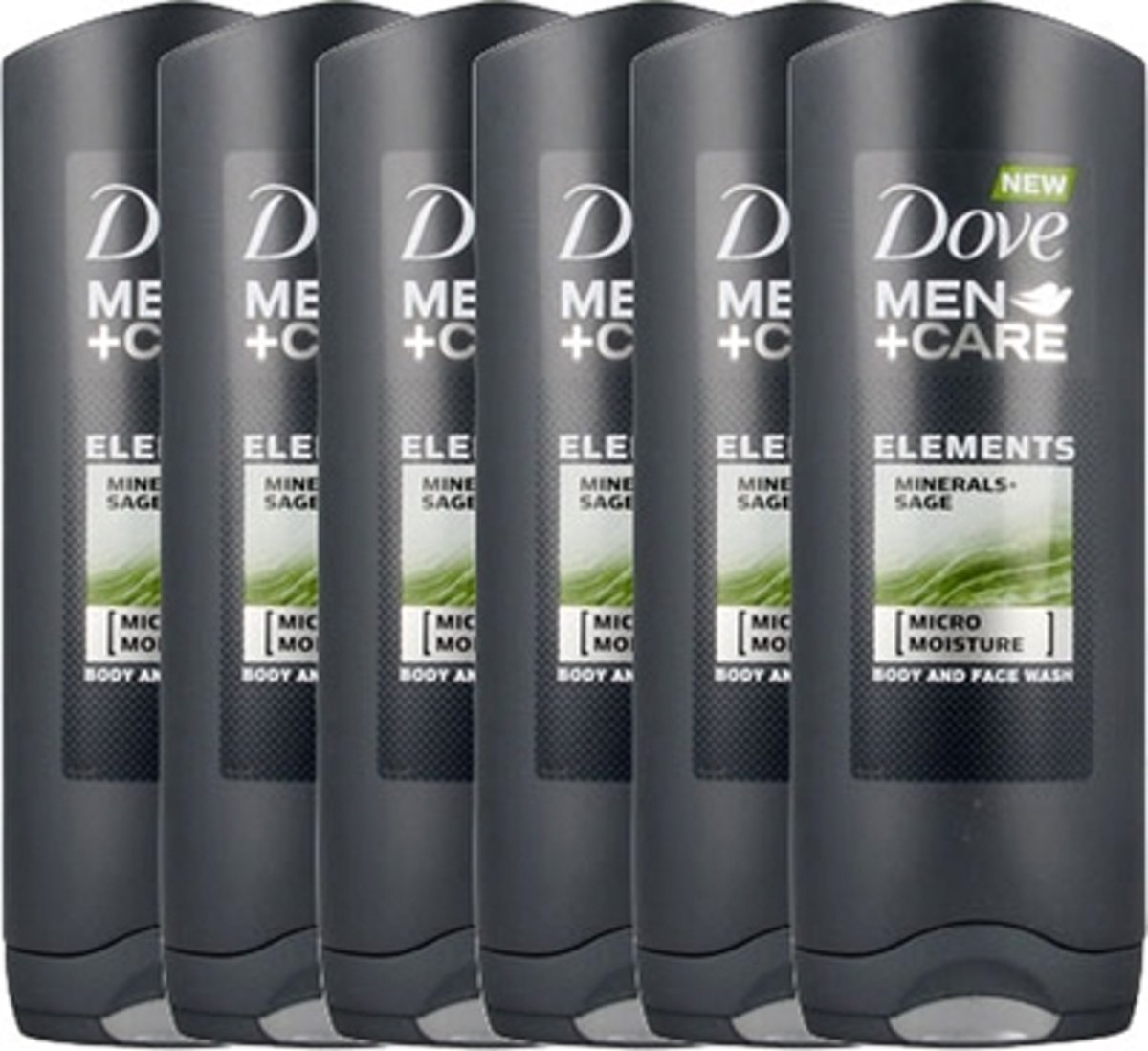 Dove Douchegel Men+care Minerals And Sage Voordeelverpakking