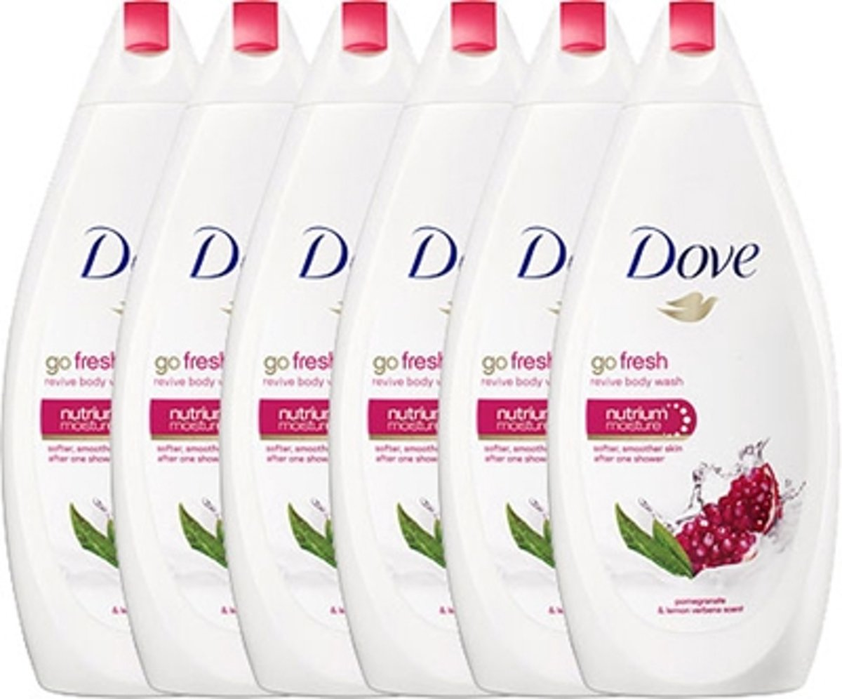 Dove Douchegel Revive - 6 x 500 ml - Voordeelverpakking