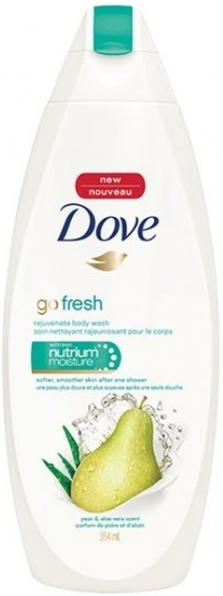 Dove Go Fresh Douchecreme - Pear & Aloe Vera 500 ml