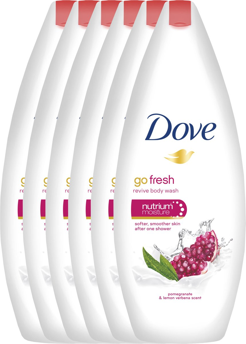 Dove Go Fresh Revive - 6 x 250 ml - Douchegel - Voordeelverpakking