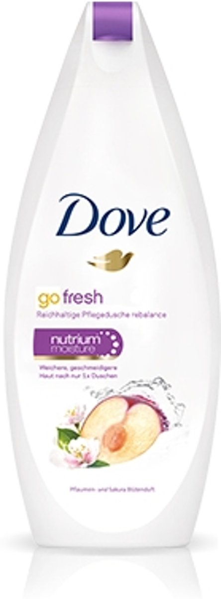 Dove Go Fresh Vrouwen 250ml douchegel