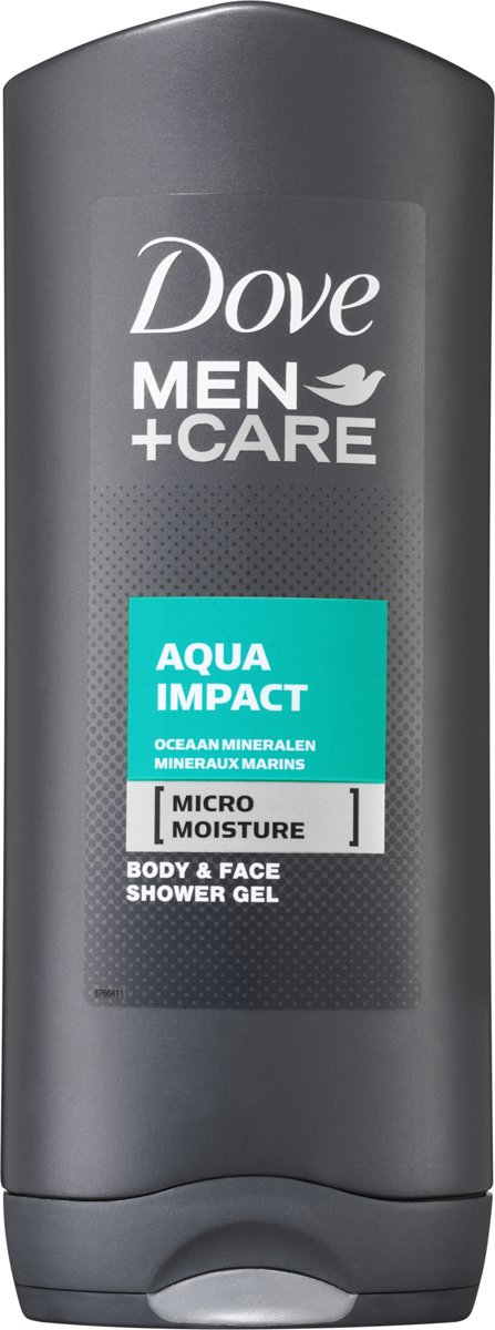 Dove Men+Care Aqua Impact - 400 ml - Douchegel