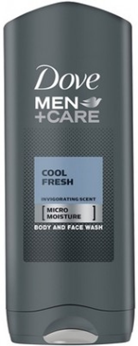 Dove Men+Care Cool Fresh - 1 x 250 ml - Douche Gel -