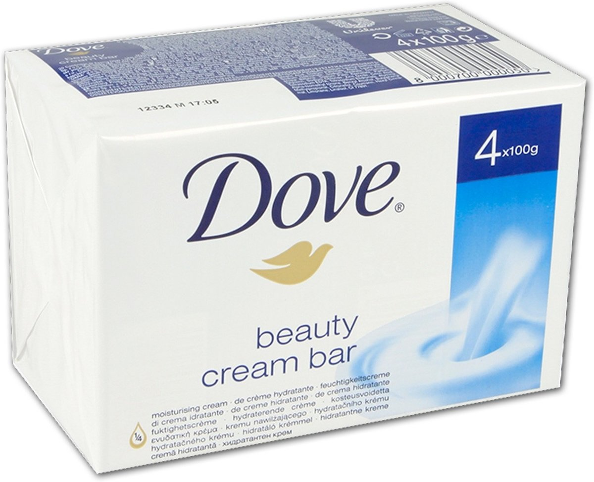 Dove Original Beauty Cream Bar Women - 4 x 100 gr - Zeep