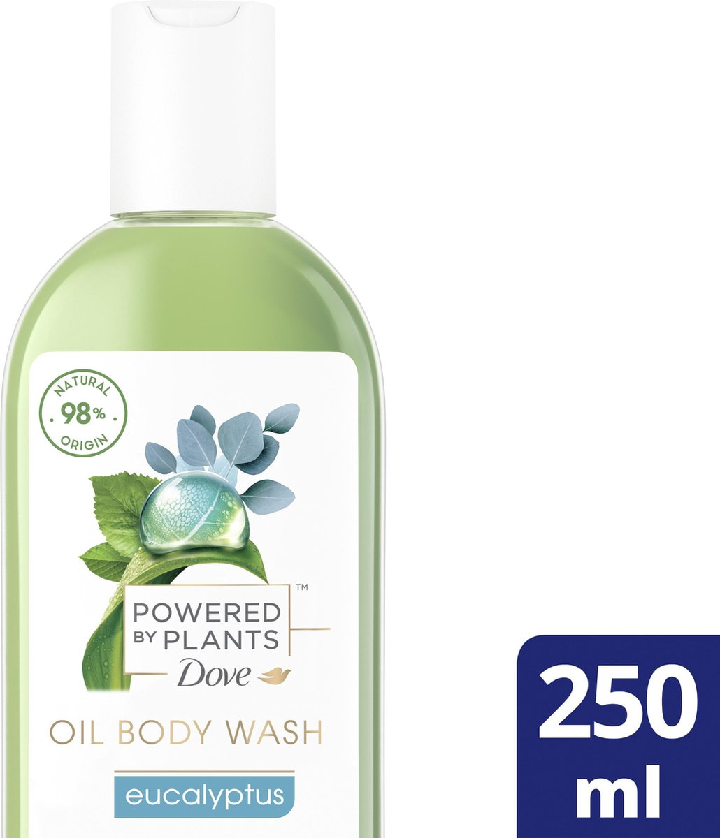 Dove Powered by Plants Douchegel Oil Body Wash Eucalyptus 250 ml