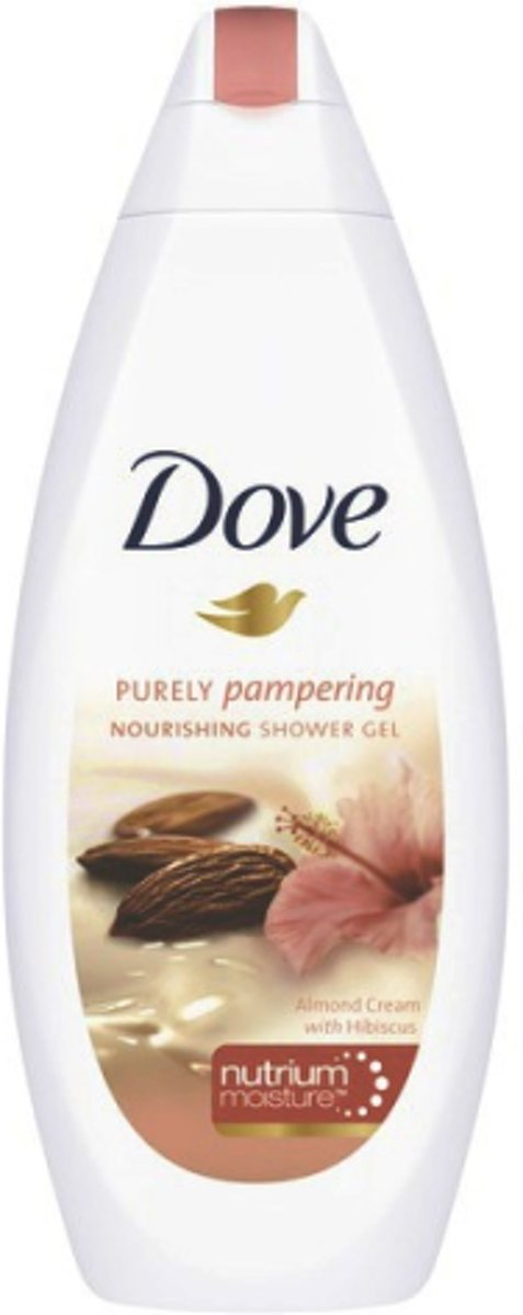 Dove Purely Pampering Amandelmelk & Hibiscus - 500 ml - Douchegel