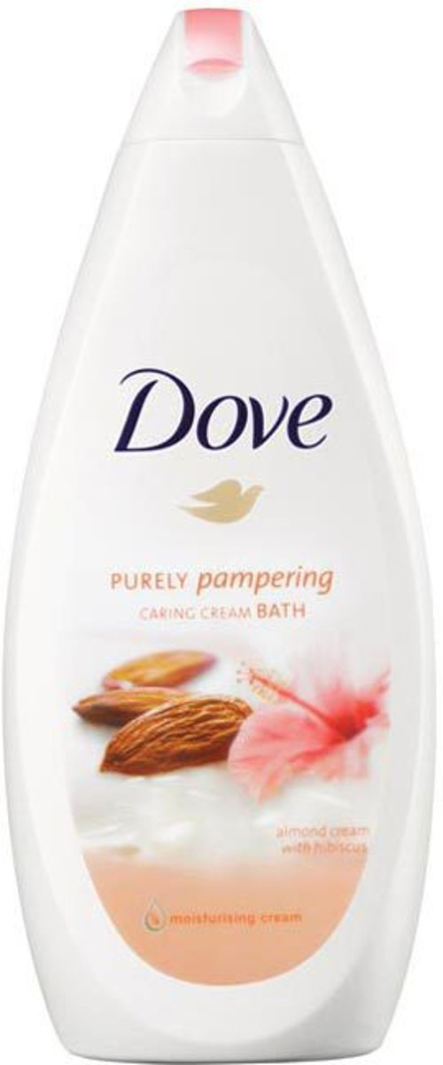 Dove Purely Pampering Amandelmelk & Hibiscus Badschuim - 750 ml