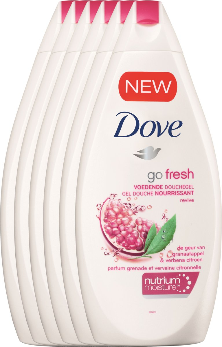 Dove revive Go Fresh - 250 ml - shower gel - 6 st - voordeelverpakking