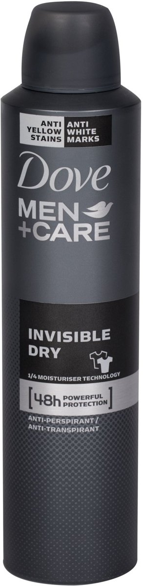Men Invisible Dry Deo Vaporizador 250 ml