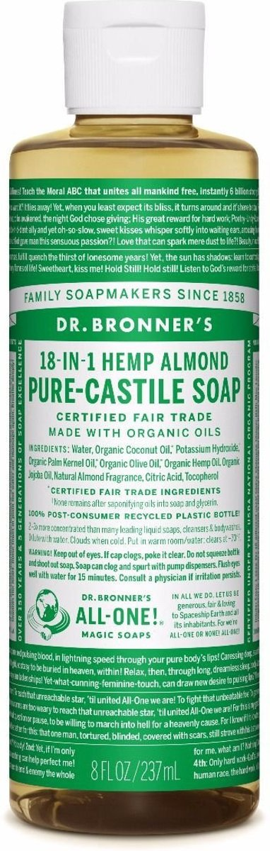 18-in-1 Pure-Castile Soap Almond