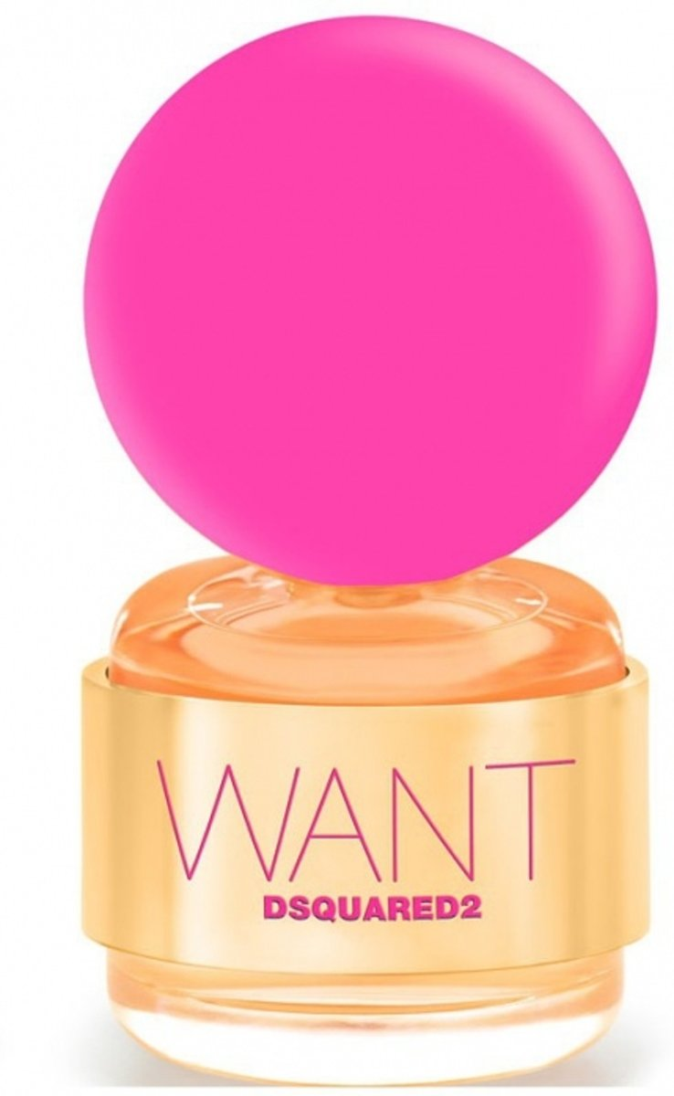 Dsquared2 - Want Pink Ginger - 100 ml - eau de parfum