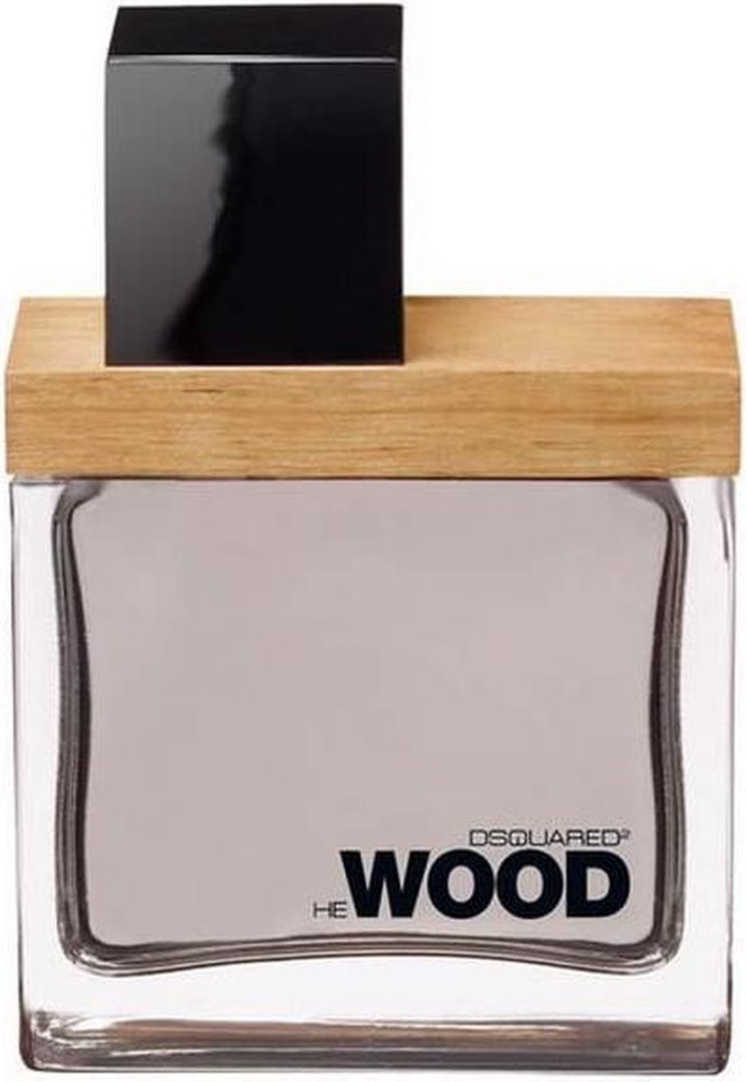 MULTI BUNDEL 2 stuks Dsquared2 He Wood Eau De Toilette Spray 30ml