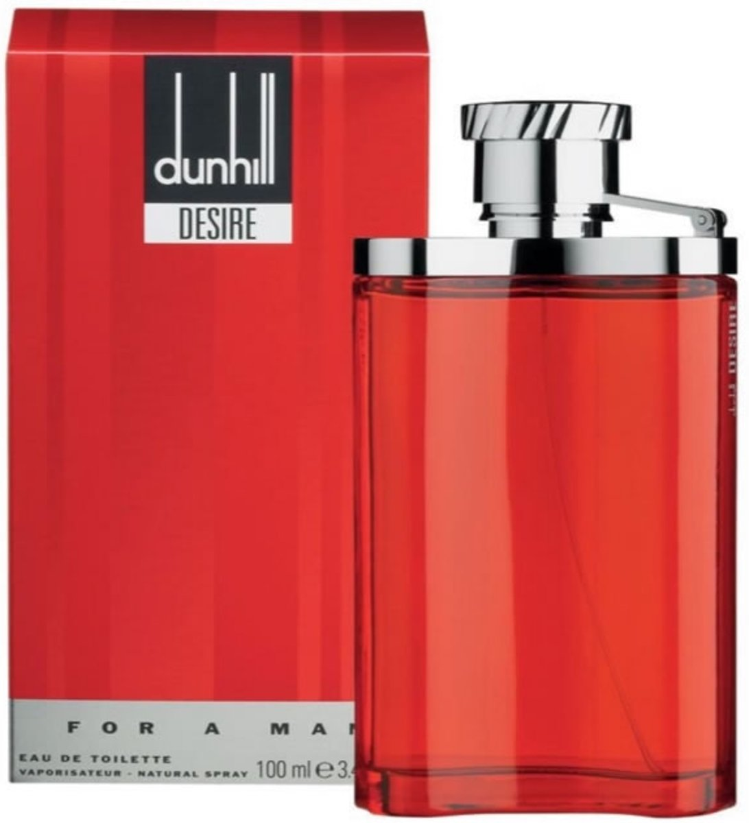 MULTI BUNDEL 3 stuks Dunhill London Desire For A Man Eau De Toilette Spray 100ml