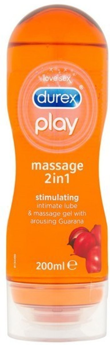 2-in-1 Massage glijmiddel Stimulating Durex (200 ml)