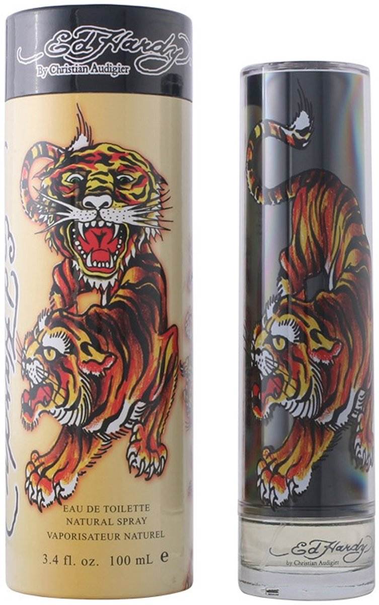 MULTI BUNDEL 2 stuks ED HARDY MAN eau de toilette spray 100 ml