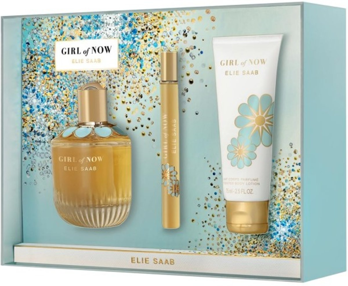 Elie Saab Girl of Now 90 ml Edp + 75 ml BL + 10 ml Edp set