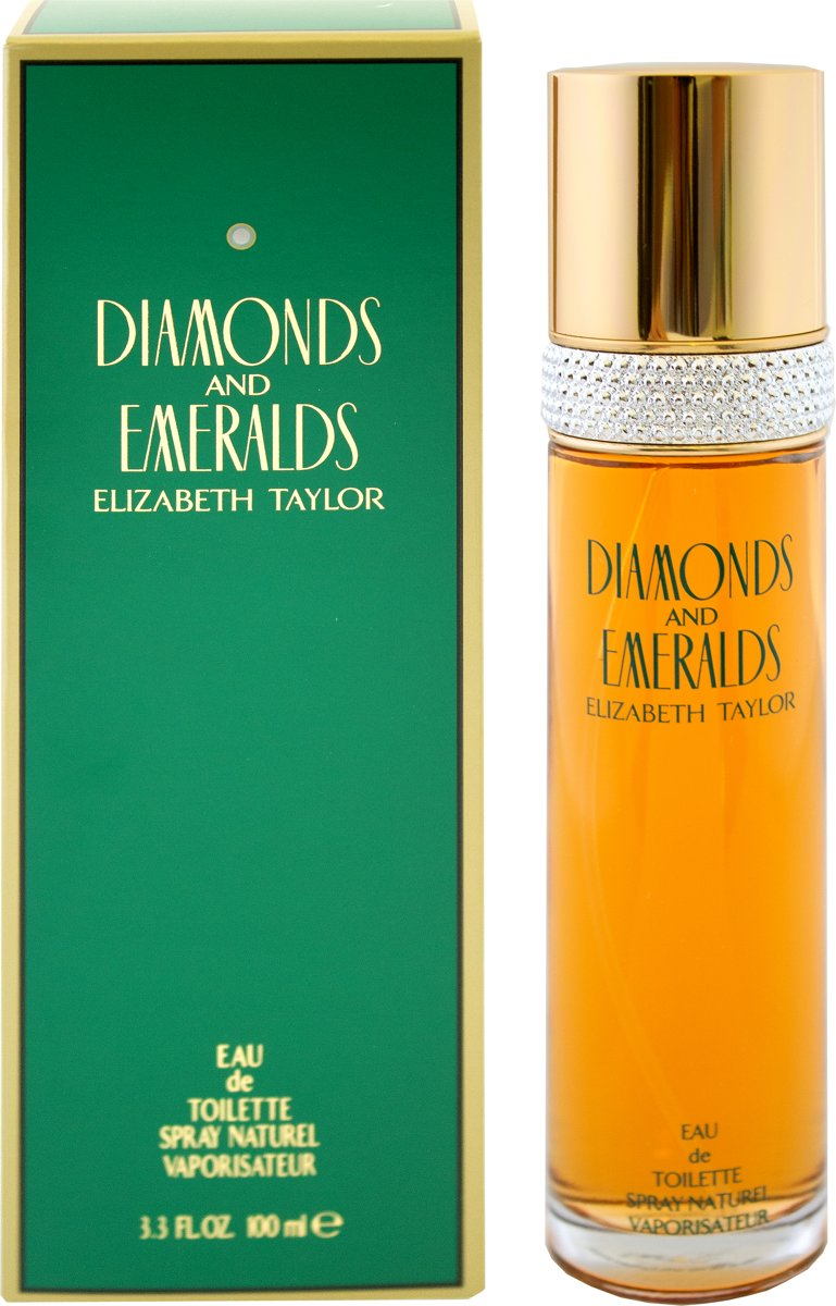 Elizabeth Taylor Eau De Toilette Diamonds & Emeralds 100 ml - Voor Vrouwen