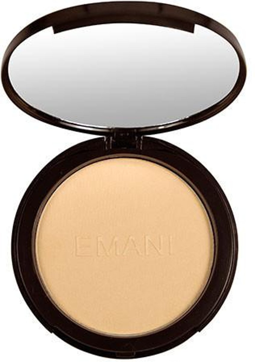 Emani - Flawless Matte Compact Foundation - Golden