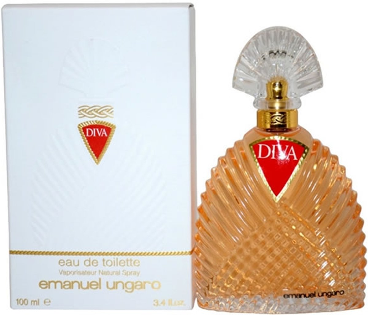 MULTI BUNDEL 3 stuks Emanuel Ungaro Diva Eau De Toilette Spray 100ml
