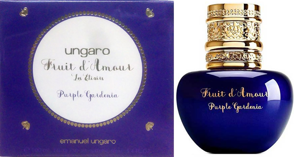 Ungaro Fruits dAmour Les Elixirs Purple Gardenia 100ml EDP Spray