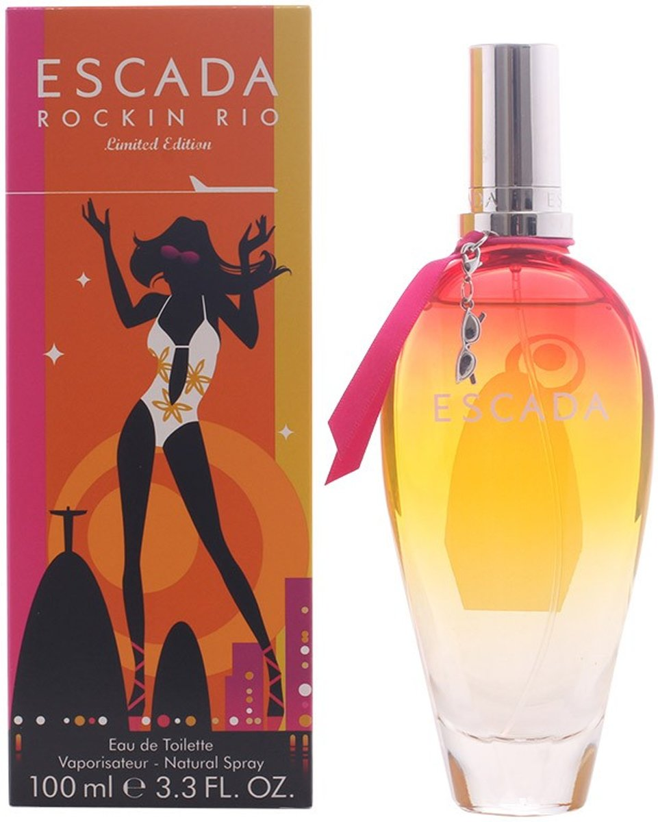 MULTI BUNDEL 2 stuks ROCKIN RIO Eau de Toilette Spray 100 ml