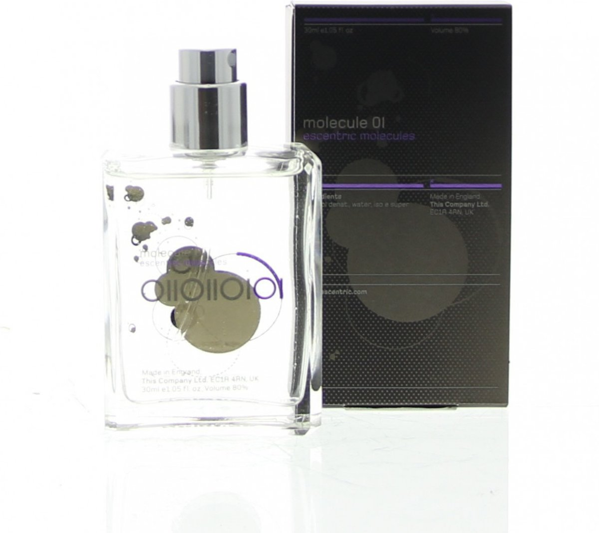 Escentric Molecules Molecule 01 30ml eau de toilette refill spray navulling