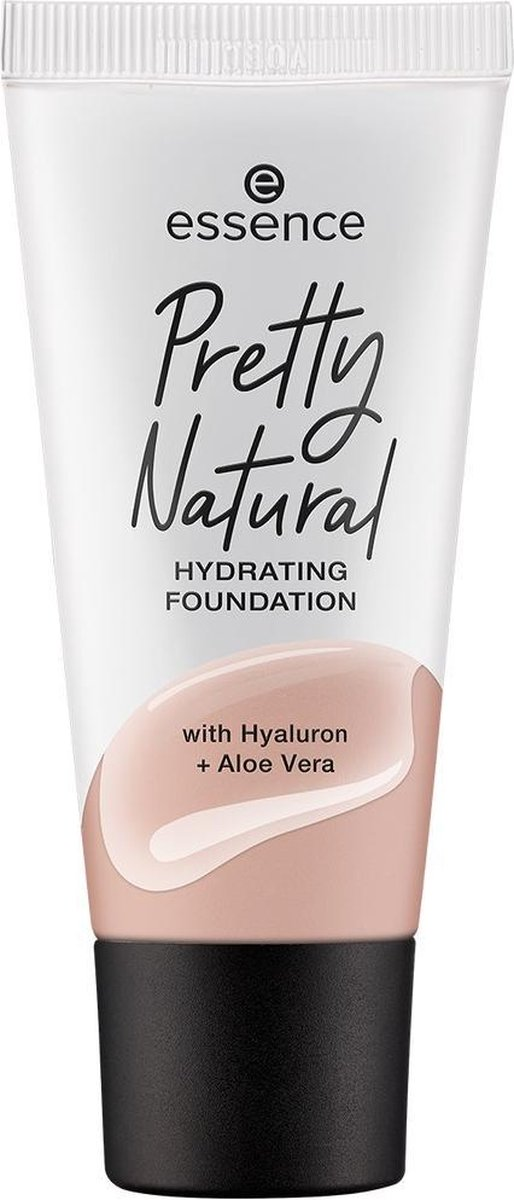 Pretty Natural Hydrating Foundation primer for long-lasting moisturizing face 050 Neutral 30ml Champagne