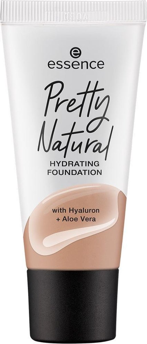 Pretty Natural Hydrating Foundation primer for long-lasting moisturizing face 240 Warm Honeycomb 30ml
