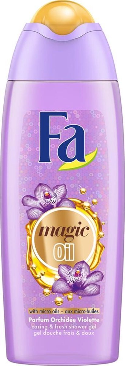 6x Fa Douchegel Magic Oil Purple Orchid 250 ml