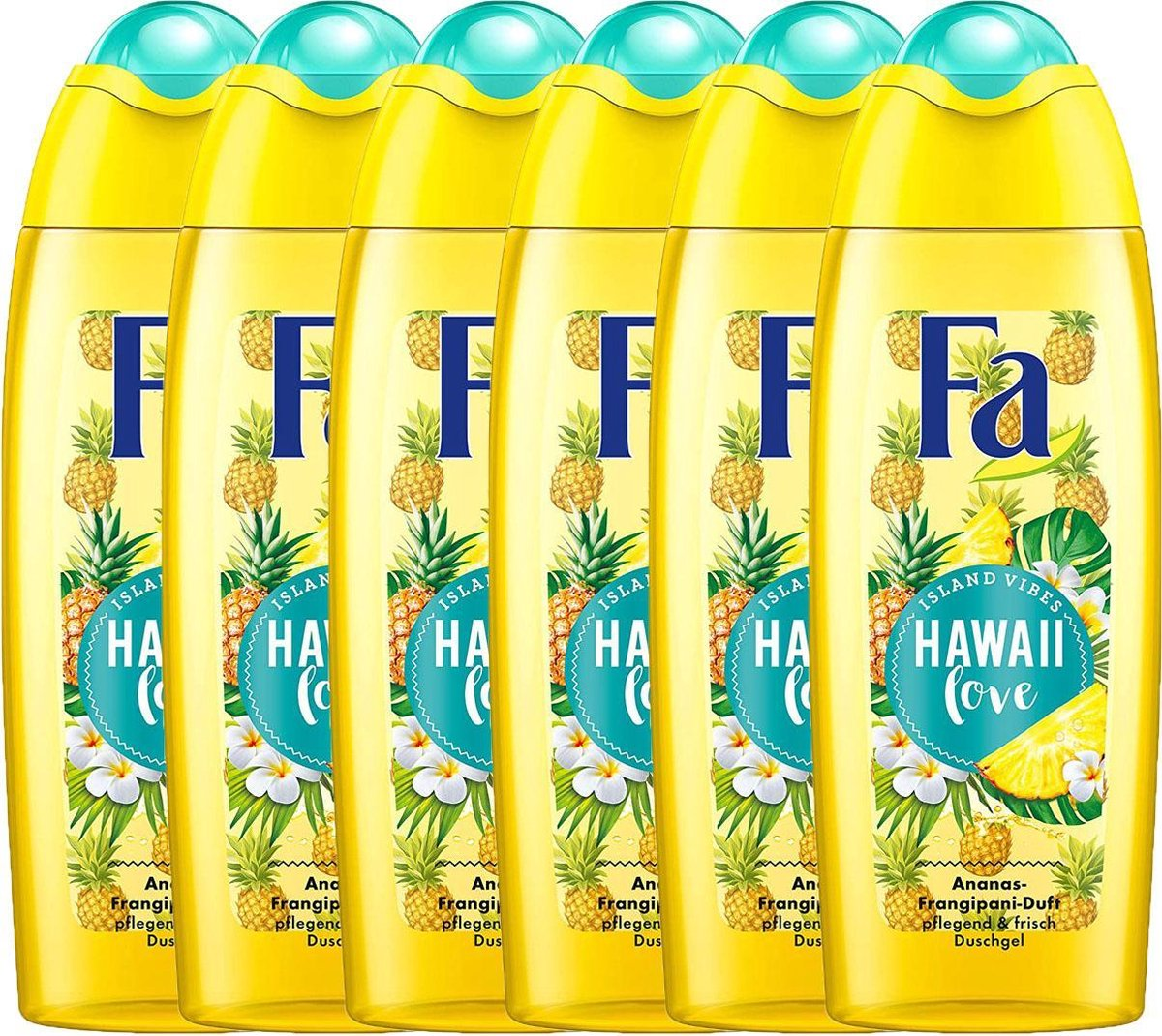 Fa - Douchegel - Hawaii Love - 6 x 250 Ml
