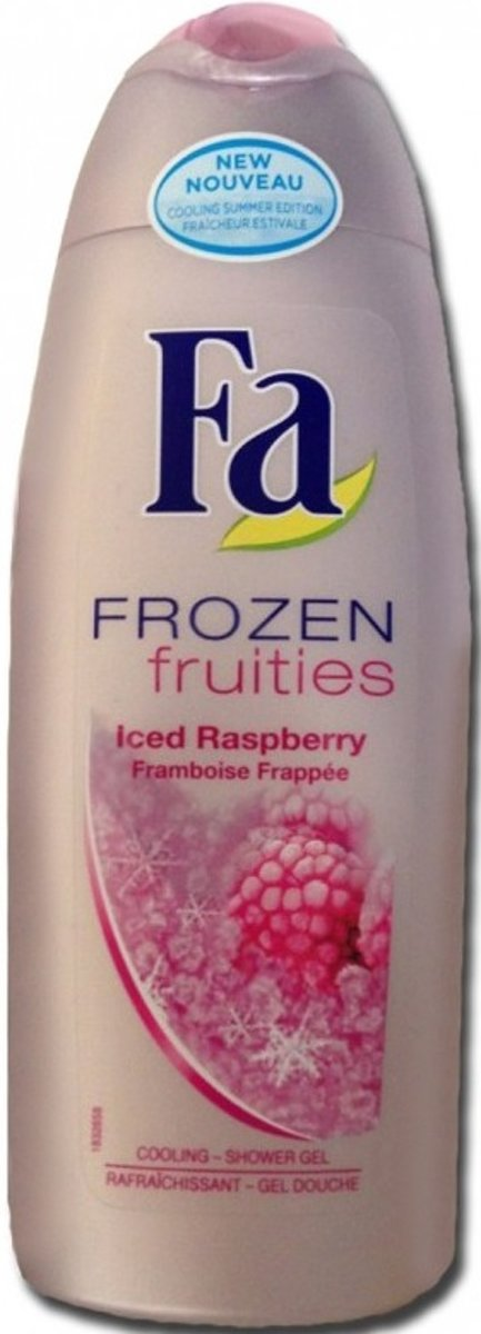 Fa Douchegel - Frozen Fruities Iced Raspberry 250 ml