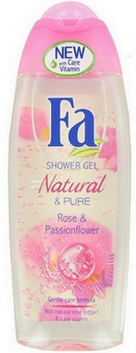 Fa Douchegel Natural Rose & Passionflower