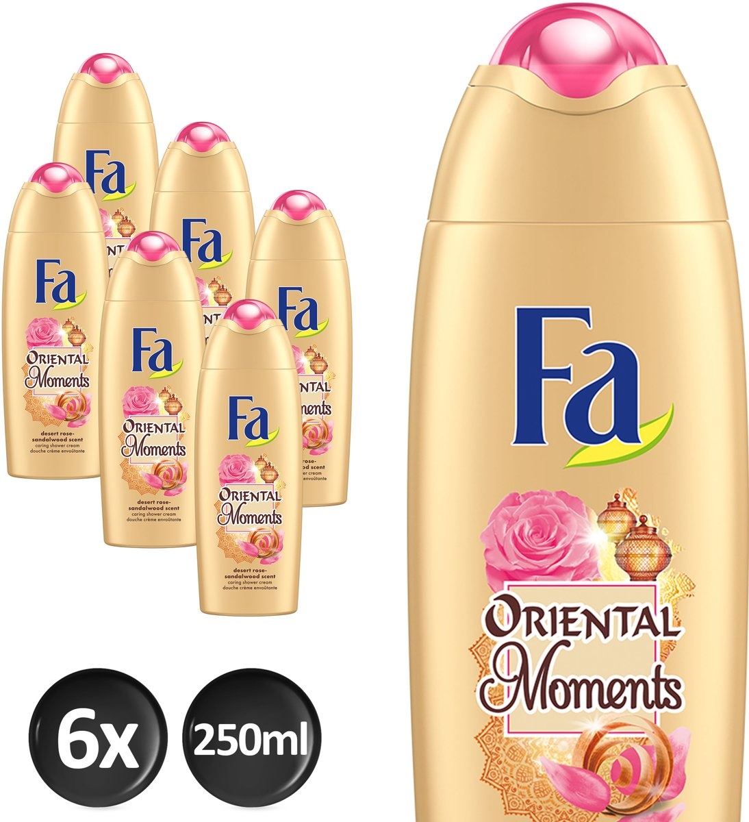 Fa Douchegel Oriental Moments Voordeelverpakking - 6 x 250ml