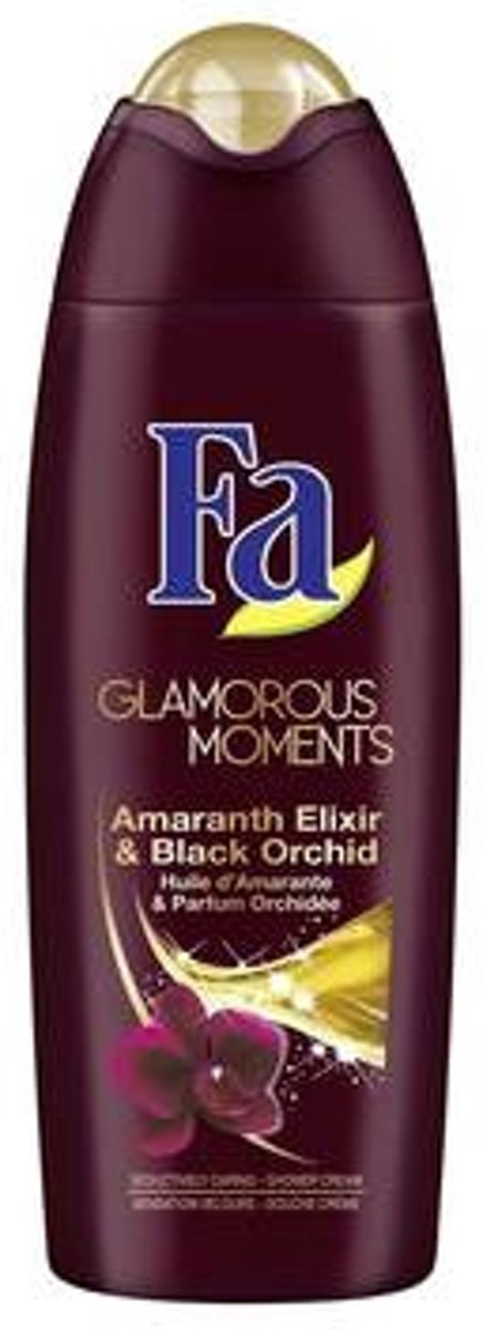 Fa Glamorous Moments Showergel - Zwarte Orchidee en Amaranth 250 ml
