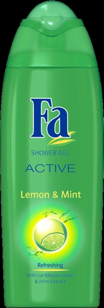 Fa Showergel - Lemon & Mint 250 ml