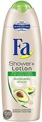 Fa shower cream+ avocado lotion