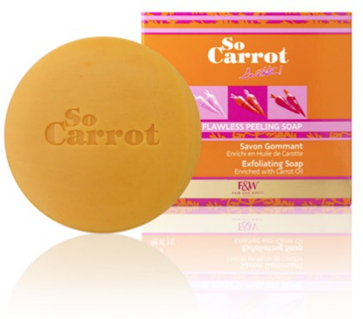 Fair and White So Carrot Exfoliating Soap 200 gr