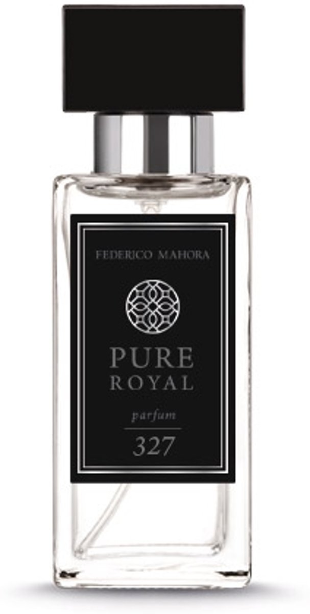 Parfum Pure Royal 327 Men & reisatomiser Brown