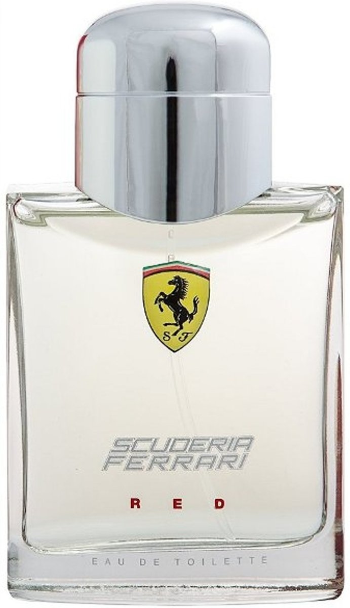 MULTI BUNDEL 2 stuks Ferrari Scuderia Red Eau de Toilette Spray 75ml