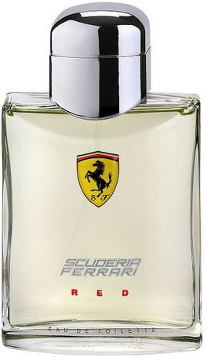 MULTI BUNDEL 3 stuks Ferrari Scuderia Red Eau de Toilette Spray 125ml