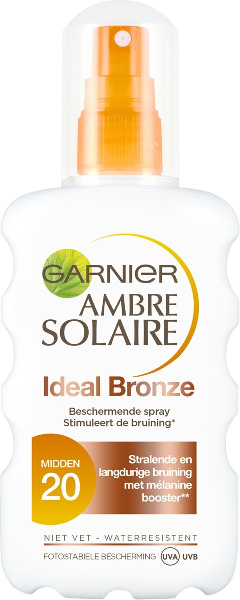 Garnier Ambre Solaire Ideal Bronze Zonnebrandspray SPF 20 - 200 ml