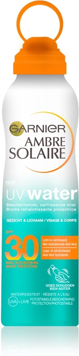 Garnier Ambre Solaire Uv Water Mist - Zonnebrandspray - Waterbestendig - 200 ml