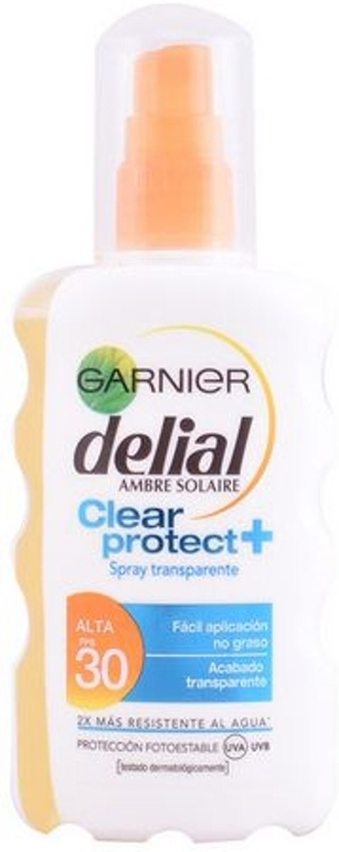 Garnier Clear Protect Delial SPF30 - Zonnebrandspray - 200 ml