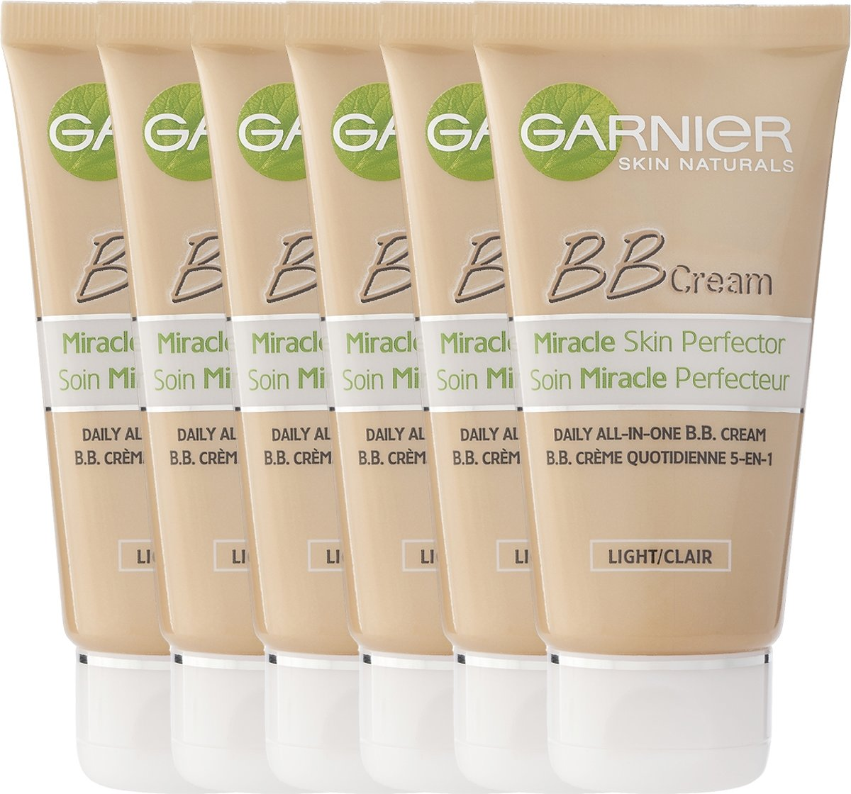 Garnier Skinactive Face SkinActive – BB Cream Classic Light 5-in-1 Dagverzorging - 50ml – Getinte Dagcrème