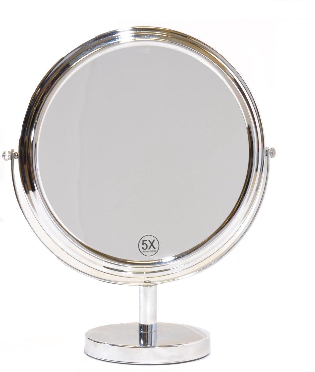 Grote make up spiegel 27cm 5x vergroting 8716181094777 for Grote lange spiegel