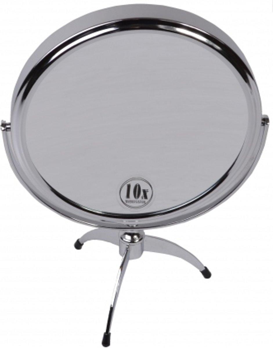 make up spiegel staande spiegel 10 x vergroting 14cm badkamer spiegel 8716181094661. Black Bedroom Furniture Sets. Home Design Ideas
