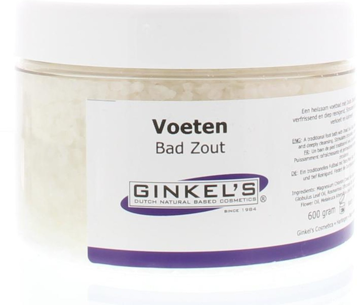 Ginkels - 600 gr - Voetbadzout