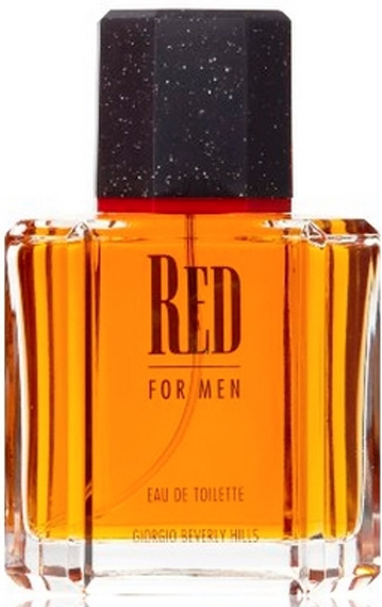 MULTI BUNDEL 2 stuks Giorgio Beverly Hills Red For Men Eau De Toilette Spray 100ml